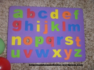 Alphabet Hunt in the Ball Pit from Suzy Homeschooler (1)