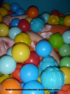 Alphabet Hunt in the Ball Pit from Suzy Homeschooler (5)