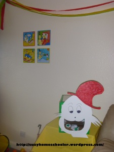 Dr Seuss Party from Suzy Homeschooler - Green Egg Toss