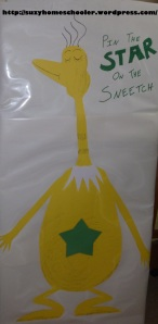 Dr Seuss Party from Suzy Homeschooler - Pin the Star on the Sneetch