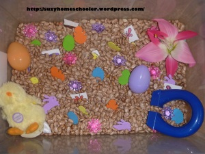Magnetic Easter Sensory Bin from Suzy Homeschooler (2)