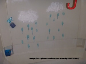 Rain Theme Bath from Suzy Homeschooler (3)