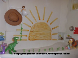 Toy Story Theme Bath from Suzy Homeschooler (1)