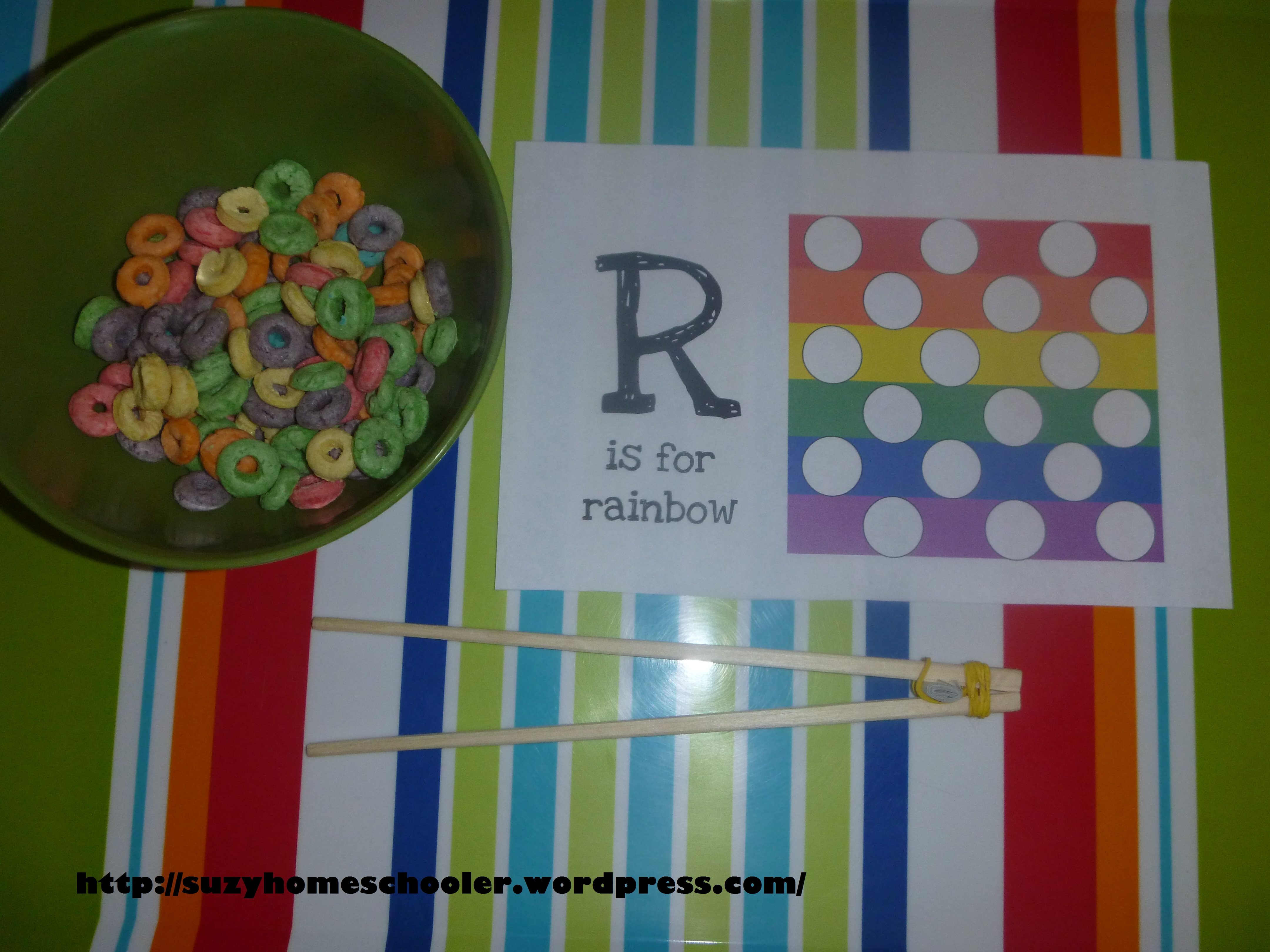 25 fruit loop activities suzy homeschooler