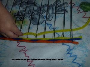 Montessori Inspired Weaving from Suzy Homeschooler