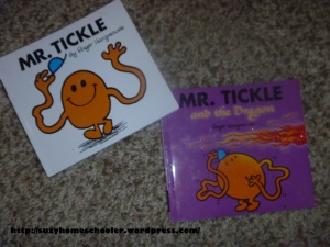 Mr Tickle Activities from Suzy Homeschooler (1)