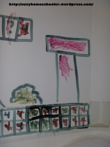Paint By Number Mario Bath from Suzy Homeschooler (2)