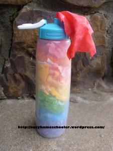 Rainbow Fabric Scrap Toy from Suzy Homeschooler (1)