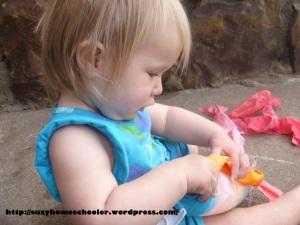 Rainbow Fabric Scrap Toy from Suzy Homeschooler (3)