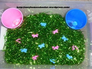 10 Butterfly Themed Sensory Bins from Suzy Homeschooler (2)