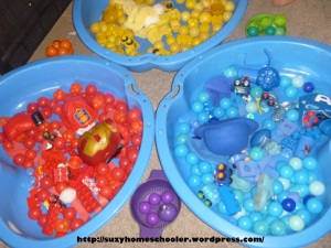 Gross Motor Color Learning Activities from Suzy Homeschooler (1)
