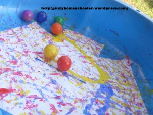 Gross Motor Color Learning Activities from Suzy Homeschooler (3)