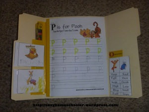 Winnie -the- Pooh Lapbook from Suzy Homeschooler (2)