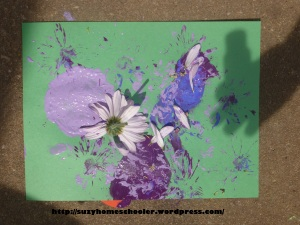 Activities Using Real Flowers for Flower Theme Week from Suzy Homeschooler (6)