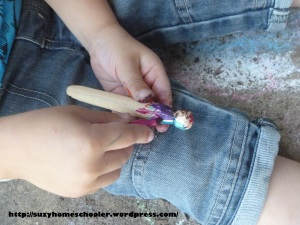 Child-Made Clothes Peg Fairies from Suzy Homeschooler (1)