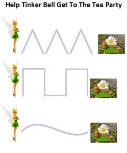 Free Printable Tinkerbell Preschool Pack from Suzy Homeschooler (2)