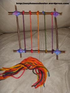 Homemade Loom from Suzy Homeschooler (1)