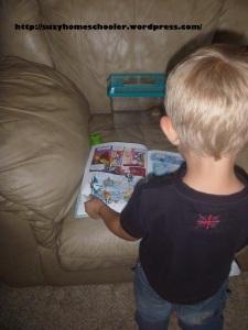 Impromptu Frog Studies, Suzy Homeschooler (2)