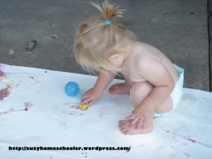 Painting without Brushes from Suzy Homeschooler (7)