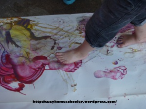 Painting without Brushes from Suzy Homeschooler (8)
