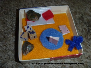 Travel-Sized Pet Rock and Pet Rock Home from Suzy Homeschooler (1)