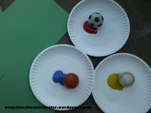 Ball Bounce Painting from Suzy Homeschooler (1)