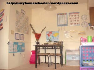 Homeschool Room Tour from Suzy Homeschooler (1)
