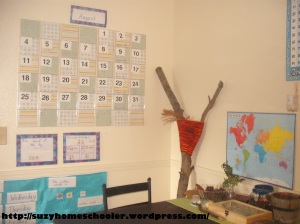 Homeschool Room Tour from Suzy Homeschooler (10)
