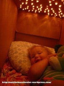 Light Cave from Suzy Homeschooler