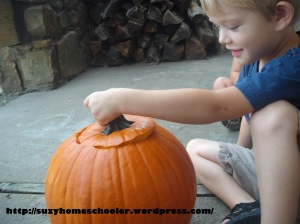 15 Ways to Play and Learn with a Pumpkin from Suzy Homeschooler (11)