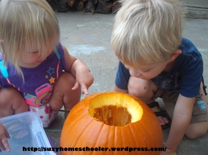 15 Ways to Play and Learn with a Pumpkin from Suzy Homeschooler (17)