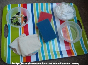 Dog Theme Week from Suzy Homeschooler, Dog Wash Small World Sensory Play (1)