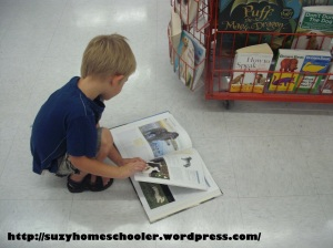 Dog Theme Week from Suzy Homeschooler, field trip to PetSmart (2)