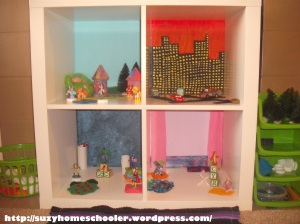 Doll House from Ikea Expedit, Suzy Homeschooler (7)