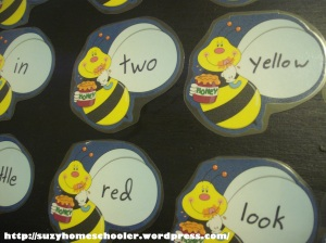 Sight Word Bee Smack Game (1)