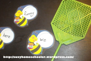 Sight Word Bee Smack Game (2)
