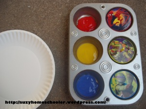 Spinner Painting from Suzy Homeschooler (1)