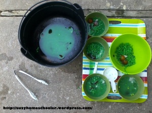 Edible Witches Brew Sensory Activity from Suzy Homeschooler (14)