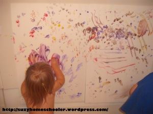 Painting Without Brushes from Suzy Homeschooler (12)