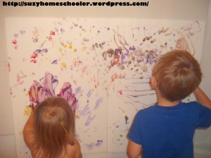 Painting Without Brushes from Suzy Homeschooler (13)