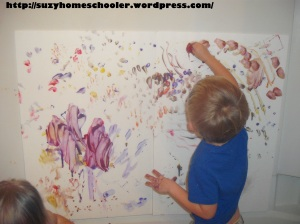Painting Without Brushes from Suzy Homeschooler (14)