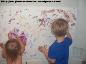 Painting Without Brushes from Suzy Homeschooler (15)