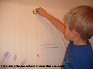 Painting Without Brushes from Suzy Homeschooler (6)