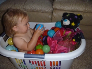 make shift ball pit