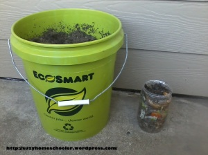 Harvest Theme Week (pt2) from Suzy Homeschooler - Compost Bin (10)